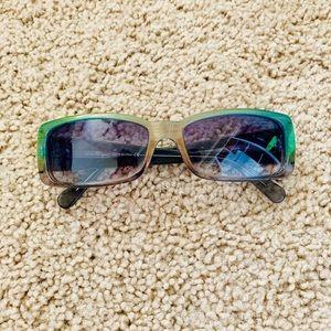 Iridescent sunglasses